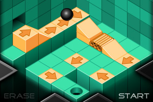 《小球进洞4修改版》游戏画面1