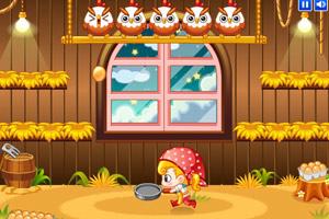 《小美接鸡蛋中文版》游戏画面1