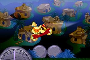 《摩登原始人木头车》游戏画面1
