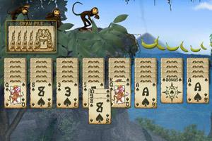 《猴版蜘蛛纸牌》游戏画面1