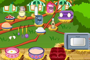 《香甜苹果松饼》游戏画面1