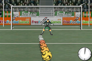 《世界杯点球大战》游戏画面1
