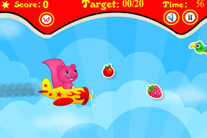 《飞机松鼠》游戏画面1