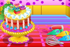 《新春奶油蛋糕》游戏画面1
