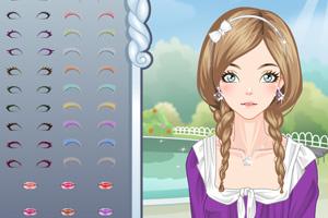 《编织发型》游戏画面1