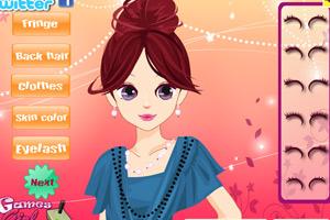 《时尚发型DIY》游戏画面1