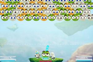 《水果笑脸泡泡龙》游戏画面1