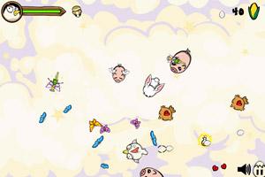 《疯狂的小鸡无敌版》游戏画面1