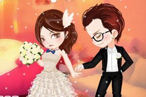 《浪漫情人节婚礼》游戏画面1