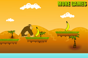 《猩猩吃香蕉》游戏画面1