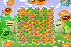 《蜂巢对对碰》游戏画面1