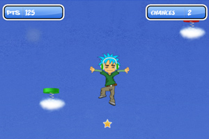 《云端跳跃》游戏画面1
