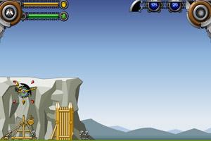 《投石机守城修改版》游戏画面1