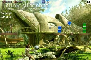 《弹弓射方块增强版》游戏画面1