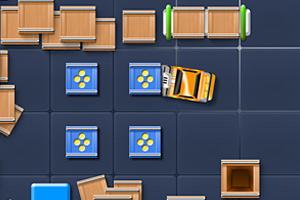 《叉车运箱子》游戏画面1