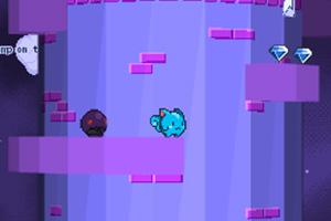 《小怪物登钻石塔无敌版》游戏画面1