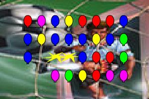 《炮射气球》游戏画面1