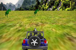《3D侏罗纪吉普车》游戏画面1