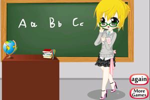 《可爱英语小老师》游戏画面1