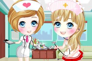 《可爱宠物护士》游戏画面1