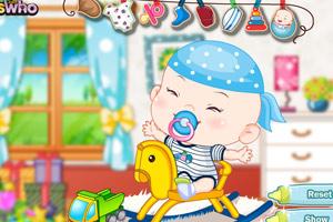《打扮小宝宝》游戏画面1