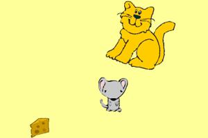 《老鼠偷奶酪》游戏画面1