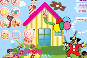 《布置糖果小屋》游戏画面1