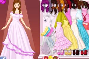 《新娘漂亮发型》游戏画面1