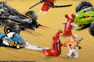 《乐高忍者战车》游戏画面1