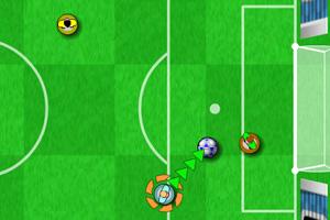 《手弹足球世界杯》游戏画面1