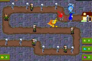 《植物大战僵尸塔防变态版》游戏画面1