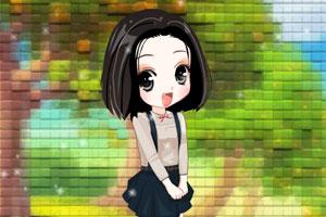 《花园小女孩》游戏画面1