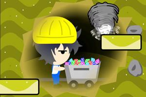 《鼹鼠采矿》游戏画面1