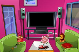《逃出可爱小客厅》游戏画面1