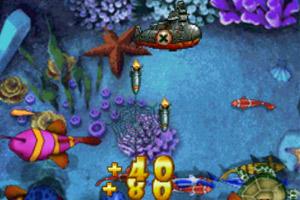 《潜艇捕鱼》游戏画面1
