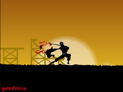 《奔跑逃脱的忍者2》游戏画面1