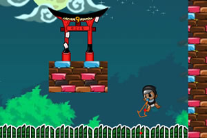 《婴儿小忍者大冒险选关版》游戏画面1