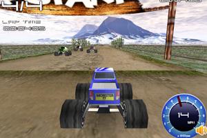 《3D越野卡车竞速》游戏画面1