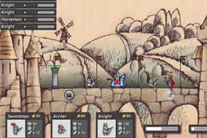 《中世纪守护城堡修改版》游戏画面1