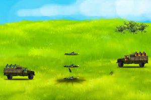 《军事战役迷你版》游戏画面1