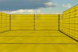 《3D黄色迷宫》游戏画面1