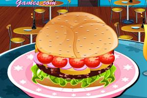 《跟我学做汉堡》游戏画面1