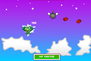 《宝石飞龙》游戏画面1