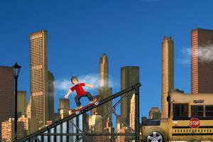 《3D滑板英豪》游戏画面1