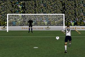 《世界杯射门训练》游戏画面1