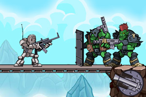 《银甲机械战士》游戏画面1