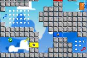 《颜色小球找出口2》游戏画面1