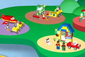 《乐高岛搭积木》游戏画面1