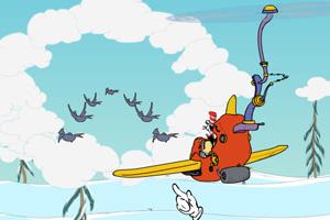 《猫先生开飞机》游戏画面1