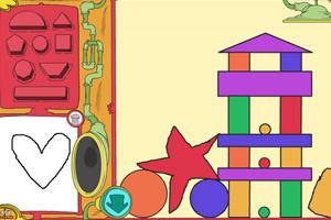 《画积木搭积木》游戏画面1